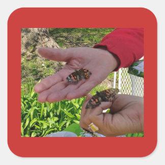 Butterfly Release Sticker