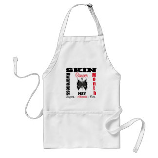 Butterfly Ribbon - Skin Cancer Awareness Month Standard Apron