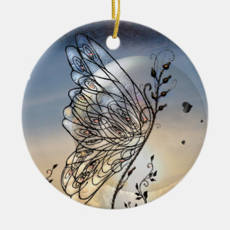 Butterfly Rising! Christmas Ornament