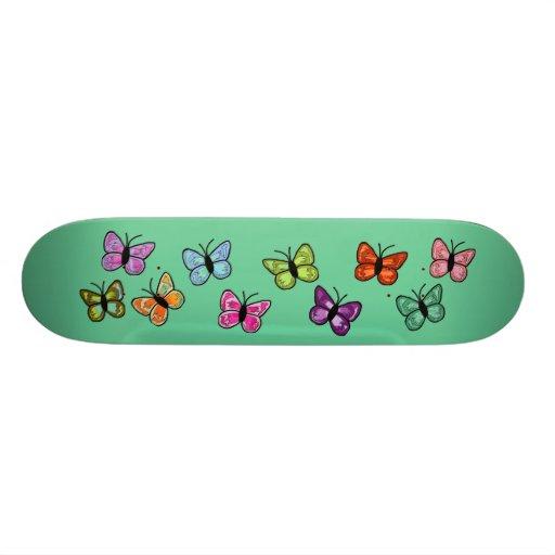 Butterfly row skateboard
