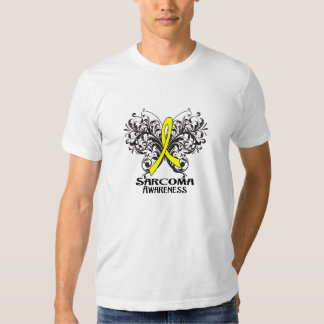 Butterfly Sarcoma Cancer Awareness T Shirt