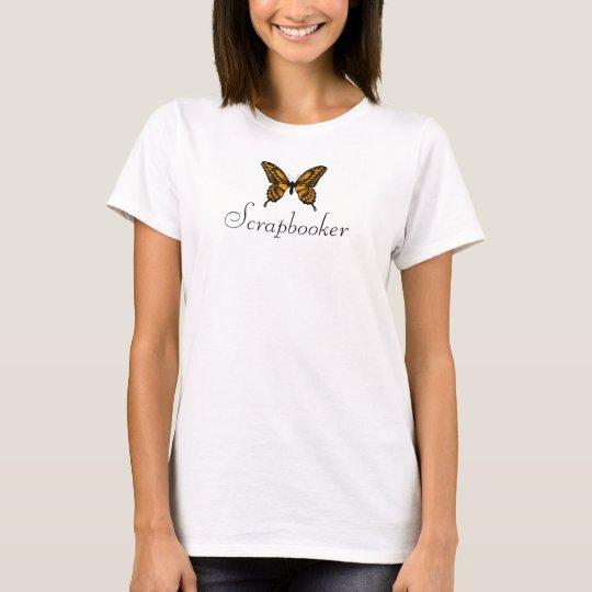 Butterfly, Scrapbooker T-Shirt