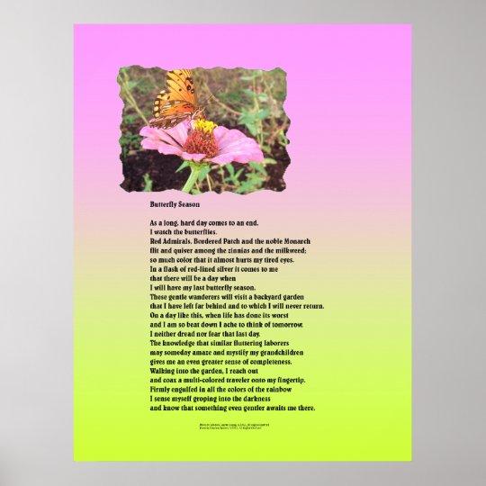 Butterfly Season Poster