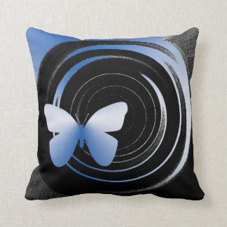 Butterfly Shades American Mojo throw pillow Pillow