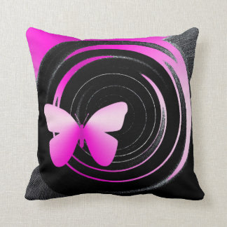 Butterfly Shades American Mojo throw pillow Throw Pillows