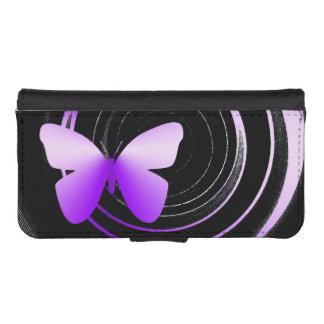 butterfly shades phone wallet case