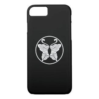 Butterfly-shaped folded oak leaves in itowa iPhone 7 case