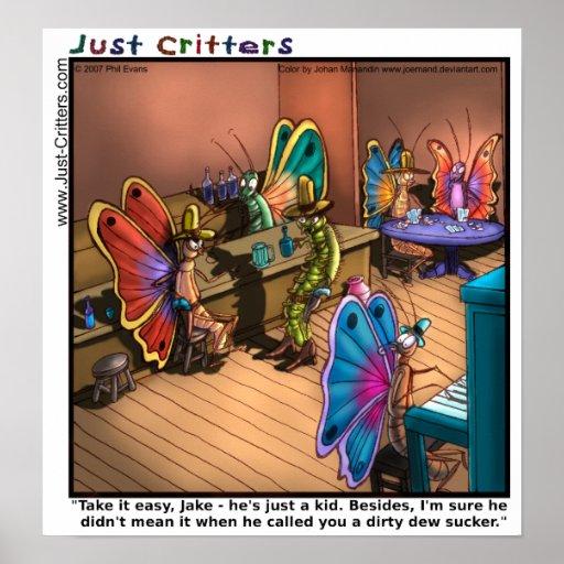 Butterfly Showdown Poster
