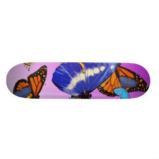 Butterfly deck