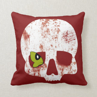 Butterfly skull Pillows Cushions
