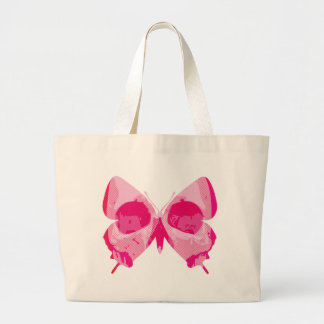 Butterfly Skull Tote Bags