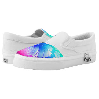 Butterfly Slip On Shoes