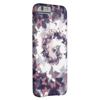 Butterfly Spiral Barely There iPhone 6 Case