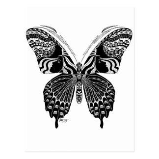 Butterfly Spirit Animal Postcard