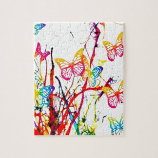 butterfly splash jigsaw puzzle
