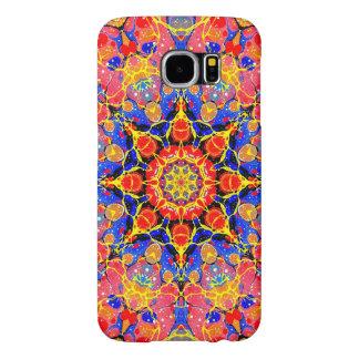 Butterfly Splash Kaleidoscope Samsung Galaxy S6 Cases