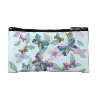 Butterfly Spring Cosmetic Bag