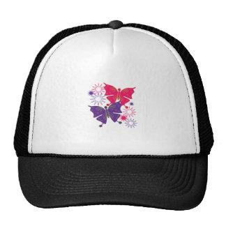Butterfly Starburst Trucker Hats
