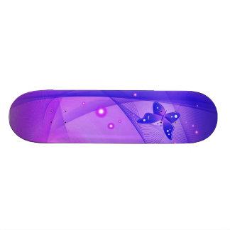 Butterfly Stripes 5 Skateboard Deck
