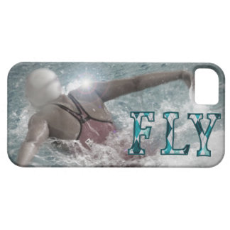 Butterfly Stroke Swimming iPhone Case Barely There iPhone 5 Case