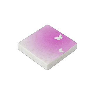 Butterfly Subject Stone Magnet