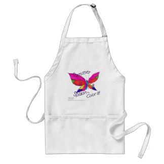 Butterfly Summer Splash Standard Apron