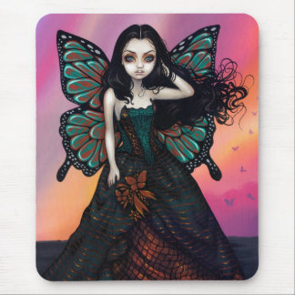 Butterfly Sunset Mousepad