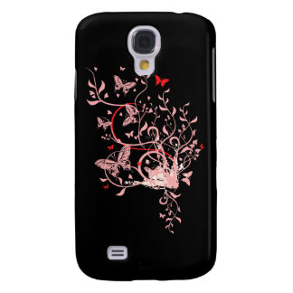 Butterfly Swirl Galaxy S4 Cover
