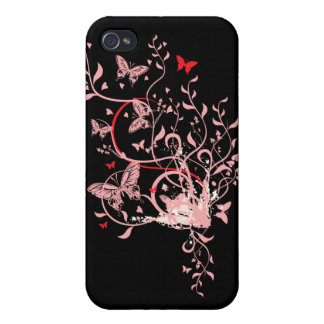 Butterfly Swirl iPhone 4 Cover