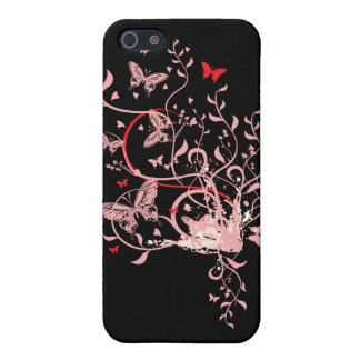Butterfly Swirl iPhone 5 Cases