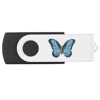 Butterfly Swivel USB 2.0 Flash Drive