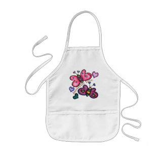 Butterfly T-Shirts and Butterfly Gifts Kids' Apron