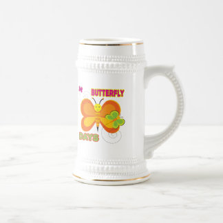 Butterfly T-Shirts and Gifts Beer Stein