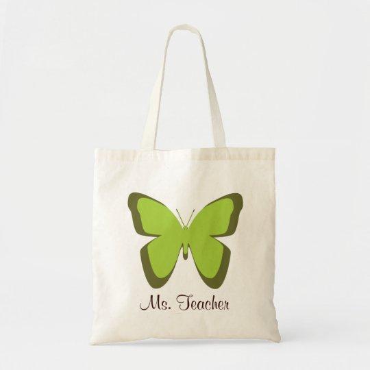 Butterfly Teacher Bag