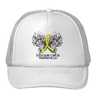 Butterfly Testicular Cancer Awareness Trucker Hats