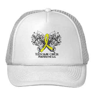 Butterfly Testicular Cancer Awareness Mesh Hats