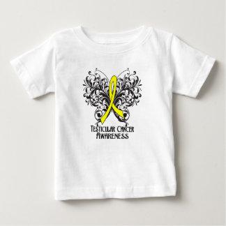 Butterfly Testicular Cancer Awareness T-shirt