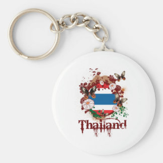 Butterfly Thailand Key Ring