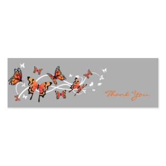Butterfly Thank You Card Business Card