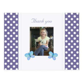 Butterfly: Thank You Postcard