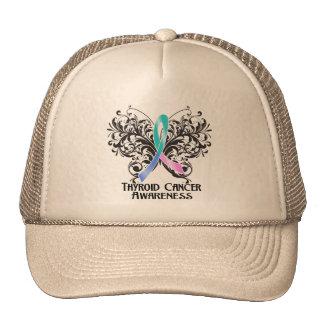 Butterfly Thyroid Cancer Awareness Trucker Hat