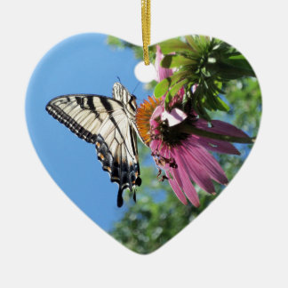 Butterfly (Tiger Swallowtail) Christmas Ornament