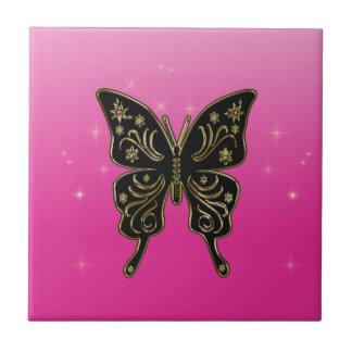 Butterfly tile