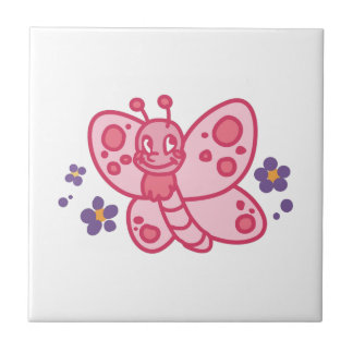 BUTTERFLY SMALL SQUARE TILE