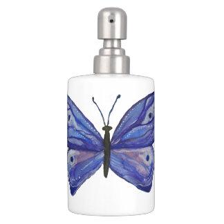 Butterfly Toothbrush Holder and Soap Dispenser Set