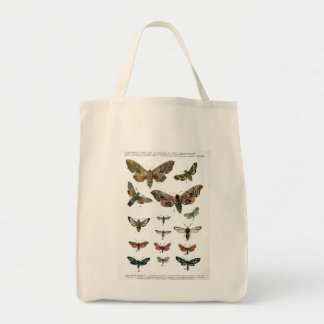 Butterfly Tote Grocery Tote Bag