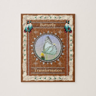 Butterfly  -Transformation- Jigsaw Puzzle w/Box