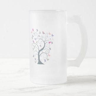 Butterfly Tree 1 Butterflies Customize Template Coffee Mug
