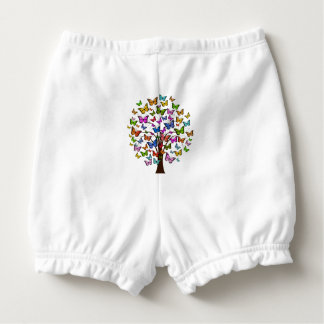 Butterfly Tree Baby Bloomers Nappy Cover
