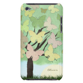 Butterfly Tree Barely There iPod Cover